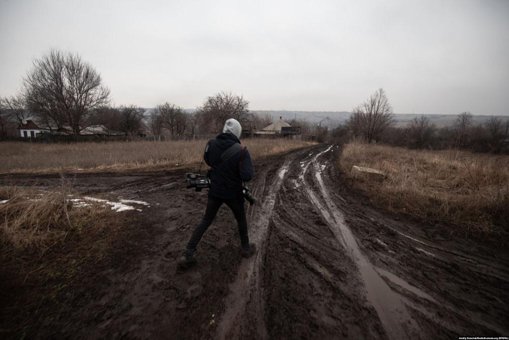 Дороги селища Золоте-4 (фото: Андрій Дубчак)