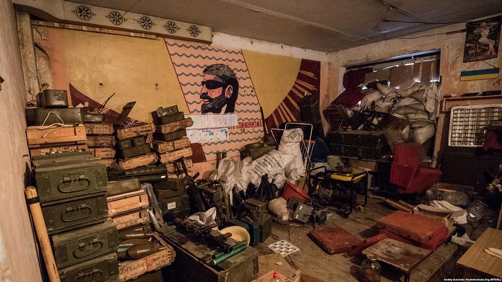 Війна. Україна. Інтер'єри «промки» / фото: Андрій Дубчак