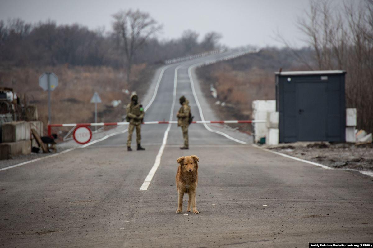 КПВВ Золоте у Луганській області
