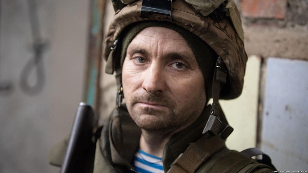 Оборонець Авдіївської «промки». В'ячеслав, 40 років / фото: Андрій Дубчак