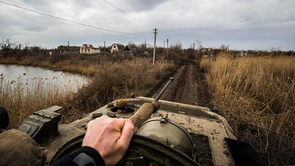 Війна в Україні. Водяне. БМП. Фото: Андрій Дубчак